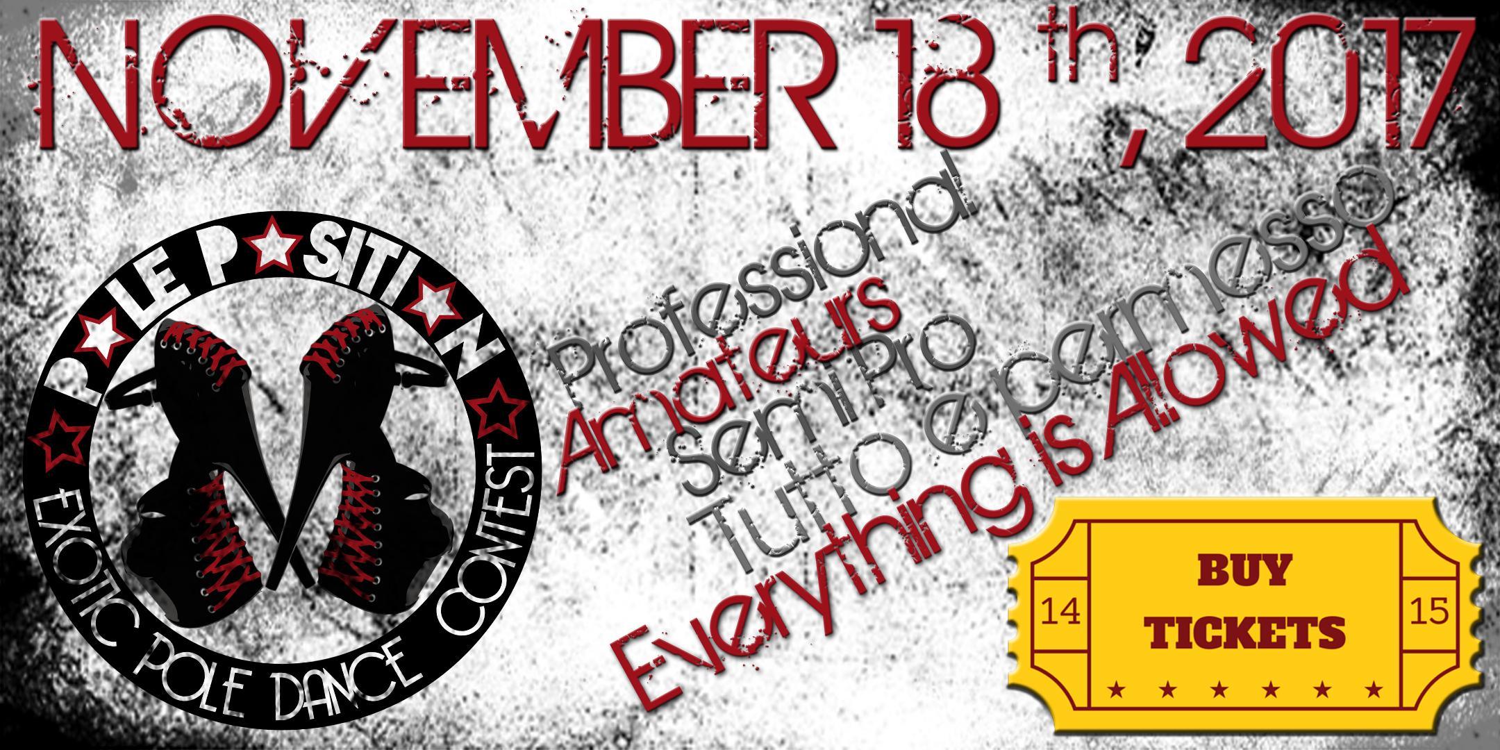 Mancano meno di 24 ore all'inizio dell'EXOTIC POLE DANCE CONTEST a Modena!