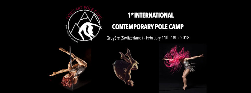 Swiss Art Pole Camp: il primo Camp internazionale di Contemporary Pole!