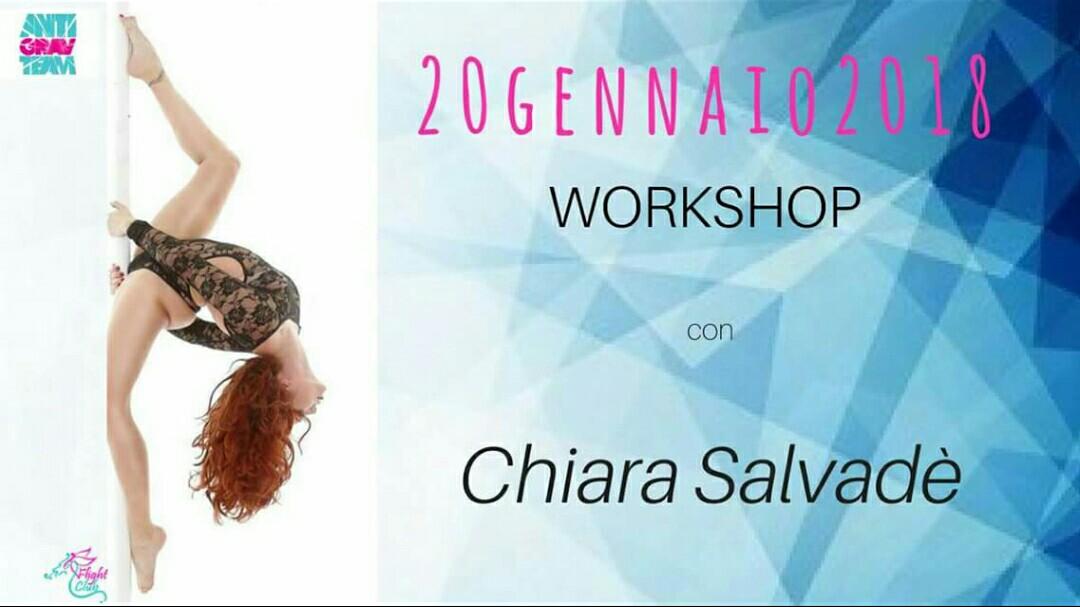 Chiara Salvadè a Milano. Fantastici Workshop in arrivo per voi!