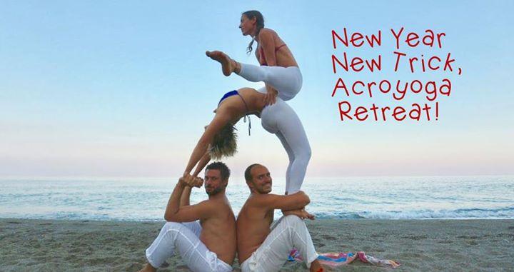 Acroyoga Retreat New Year: come iniziare al meglio il nuovo anno?