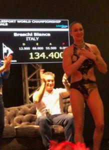 Bianca Breschi World Pole Sport 2017