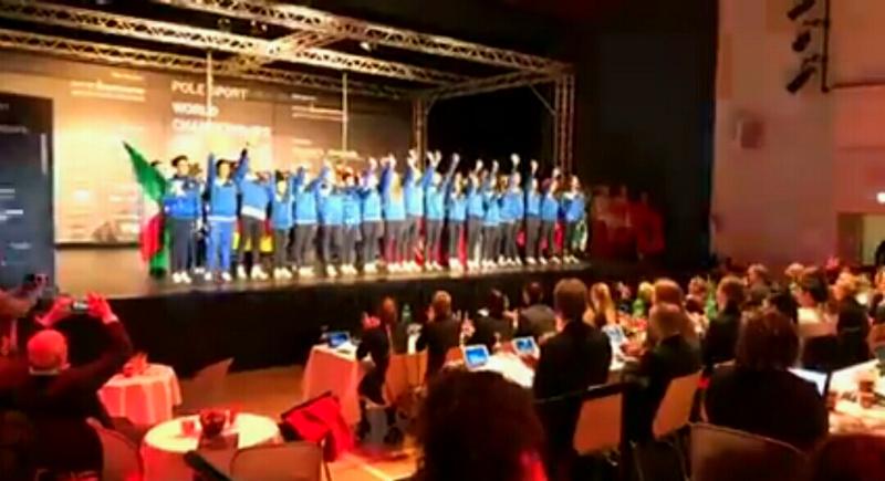 POSA- POLE SPORT WORLD CHAMPIONSHIP 2017: UN MONDIALE TUTTO DIPINTO DI AZZURRO.