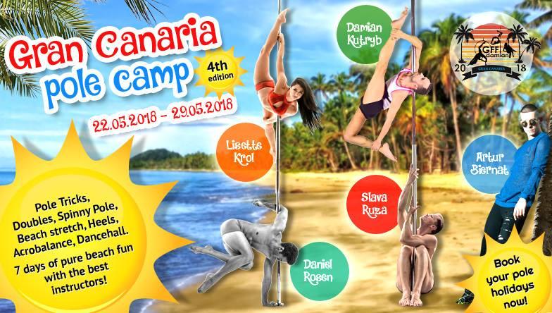 Evento da non perdere: Gran Canaria Pole Camp 2018!