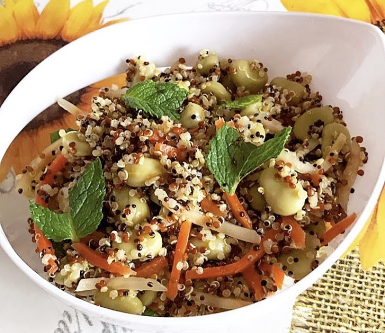 Quinoa e grano saraceno