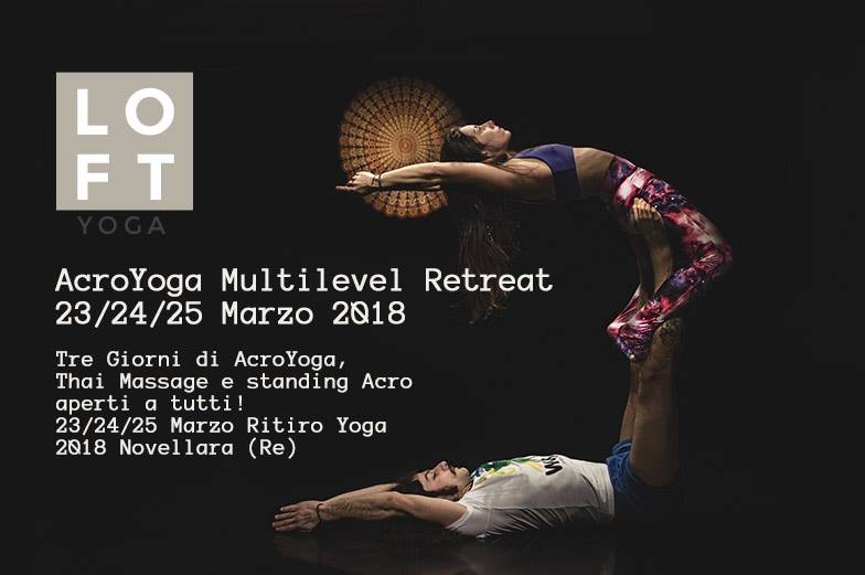 23,24,25 MARZO—->ACROYOGA RETREAT